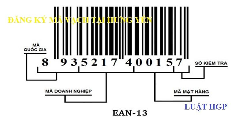 Đăng ký mã vạch tại Hưng Yên