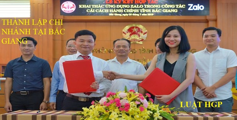 Thành lập chi nhánh tại Bắc Giang