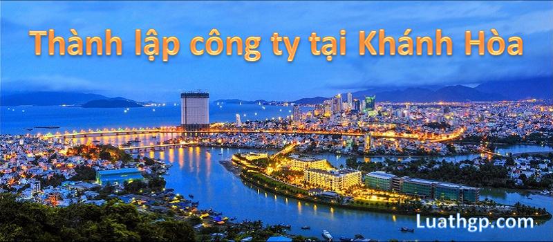 Thành lập công ty tại Khánh Hòa