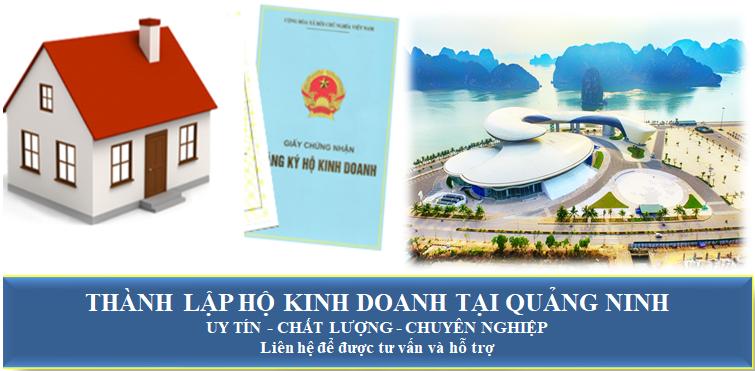 Thành lập hộ kinh doanh tại Quảng Ninh