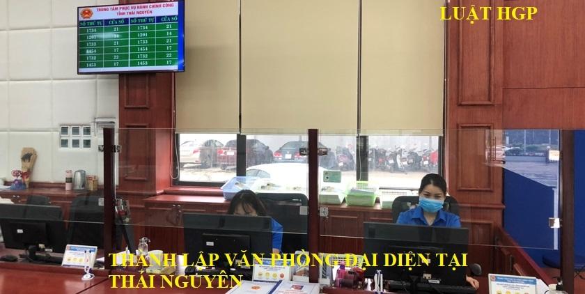 Thành lập văn phòng đại diện tại Thái Nguyên