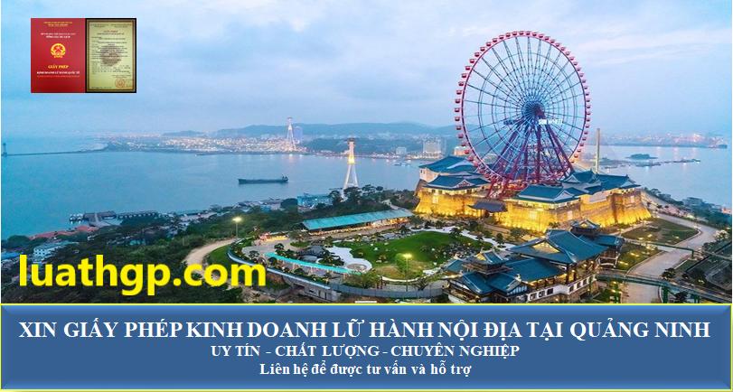 Xin giấy phép kinh doanh lữ hành nội địa tại Quảng Ninh