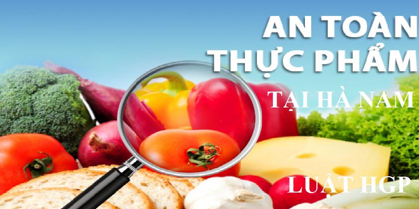 Xin giấy phép vệ sinh an toàn thực phẩm tại Hà Nam